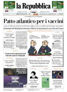 la Repubblica - 20 Febbraio 2021