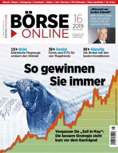 Börse Online – 18. April 2019