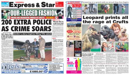 Express and Star Sandwell Edition – March 08, 2019