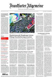 Frankfurter Allgemeine Zeitung F.A.Z. - 19. August 2019