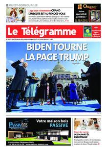 Le Télégramme Ouest Cornouaille – 21 janvier 2021