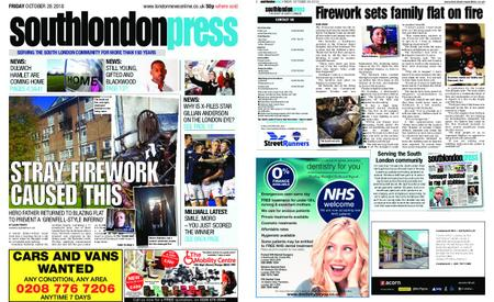 South London Press – October 26, 2018
