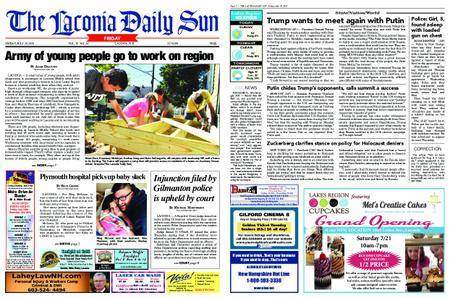 The Laconia Daily Sun – July 20, 2018