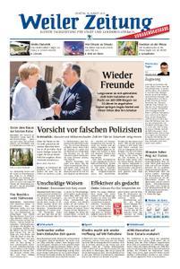 Weiler Zeitung - 20. August 2019