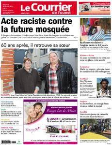 Le Courrier de l'Ouest Angers - 26 janvier 2018