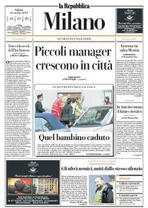 la Repubblica Milano - 19 Ottobre 2019