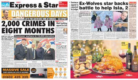 Express and Star City Edition – December 20, 2017