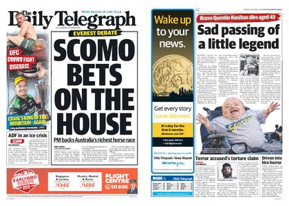 The Daily Telegraph (Sydney) – October 08, 2018