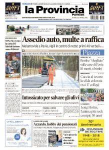 La Provincia Pavese - 24 Aprile 2018