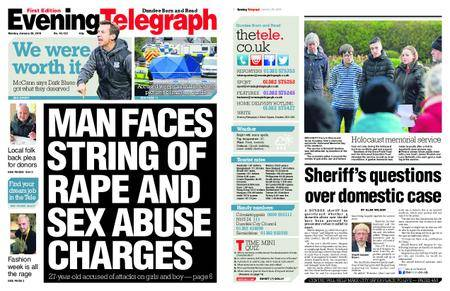 Evening Telegraph First Edition – January 29, 2018