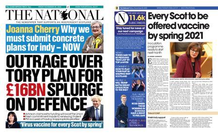 The National (Scotland) – November 20, 2020