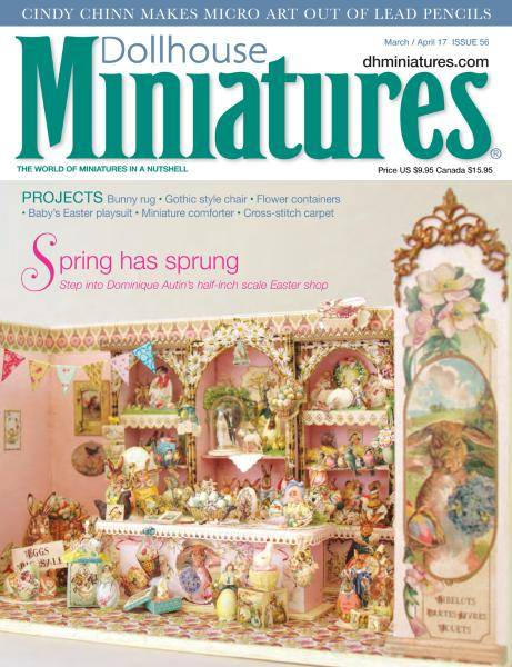 Dollhouse Miniatures - Issue 56 - March-April 2017