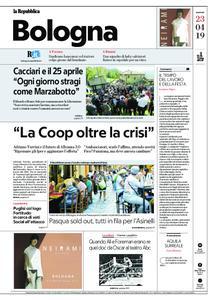 la Repubblica Bologna – 23 aprile 2019
