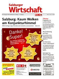 Salzburger Wirtschaft – 20. Dezember 2019