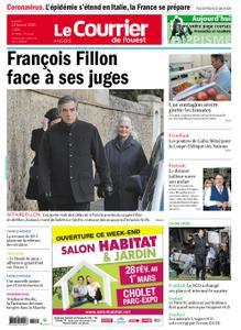 Le Courrier de l'Ouest Angers – 24 février 2020