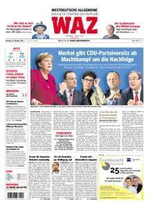 WAZ Westdeutsche Allgemeine Zeitung Oberhausen-Sterkrade - 30. Oktober 2018