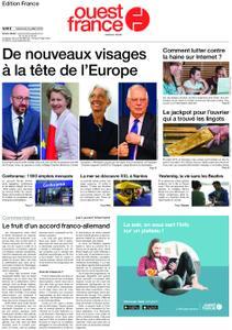 Ouest-France Édition France – 03 juillet 2019