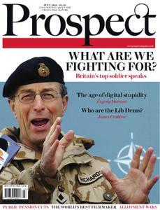 Prospect Magazine - July 2010