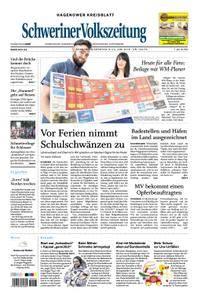 Schweriner Volkszeitung Hagenower Kreisblatt - 09. Juni 2018