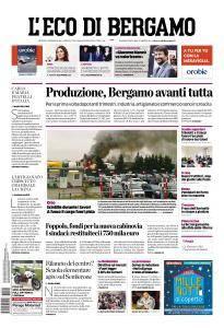 L'Eco di Bergamo - 9 Febbraio 2017
