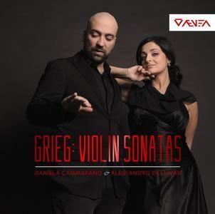 Daniela Cammarano & Alessandro Deljavan - Grieg: Complete Violin Sonatas (2015) [TR24][OF]
