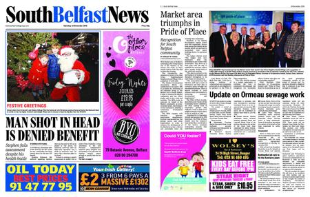 South Belfast News – November 22, 2018