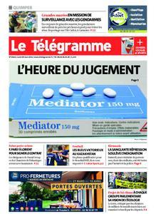 Le Télégramme Quimper – 29 mars 2021
