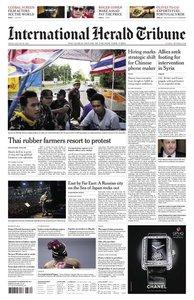 International Herald Tribune Asia 2013.08.30