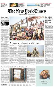 International New York Times - 25 April 2019