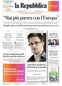 la Repubblica - 13 Settembre 2019