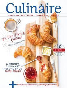 Culinaire Magazine - April 2018