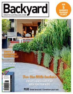 Backyard - March 2021
