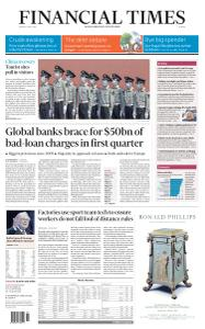 Financial Times Europe - May 4, 2020