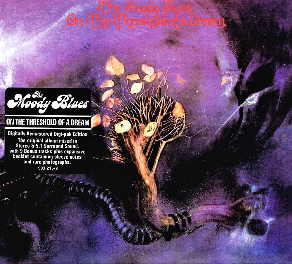 The Moody Blues - On The Threshold Of A Dream (1969) [Digi-pak Edition, 2006]