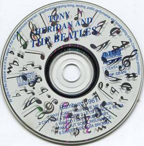 The Beatles featuring Tony Sheridan - Hamburg 1961 (1987)