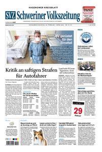 Schweriner Volkszeitung Hagenower Kreisblatt - 29. Februar 2020