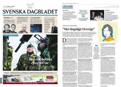 Svenska Dagbladet – 24 februari 2018