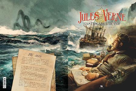 Jules Verne et l'Astrolabe d'Uranie - Tome 1