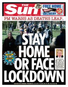 The Sun UK - 23 March 2020