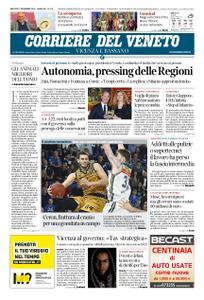 Corriere del Veneto Vicenza e Bassano – 27 novembre 2018