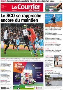 Le Courrier de l'Ouest Angers - 30 avril 2018