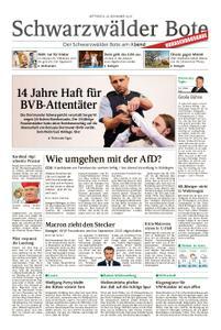 Schwarzwälder Bote Hechingen - 28. November 2018