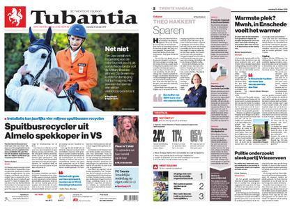 Tubantia - Enschede – 15 oktober 2018