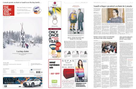 The Globe and Mail – January 12, 2019
