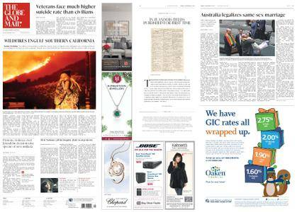 The Globe and Mail – December 08, 2017