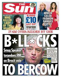 The Sun UK - 19 March 2019