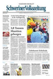 Schweriner Volkszeitung Hagenower Kreisblatt - 05. Februar 2018