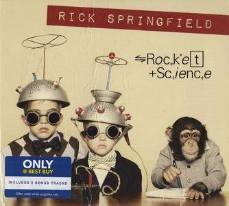 Rick Springfield - Rocket Science (2016) Special Edition [Re-Up]