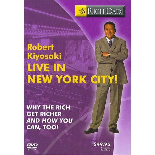 Robert Kiyosaki Live In New York - Why The Rich Get Richer and You Can, Too!