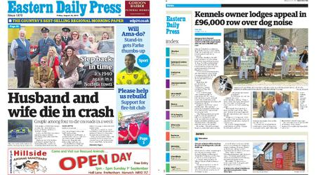 Eastern Daily Press – August 30, 2019